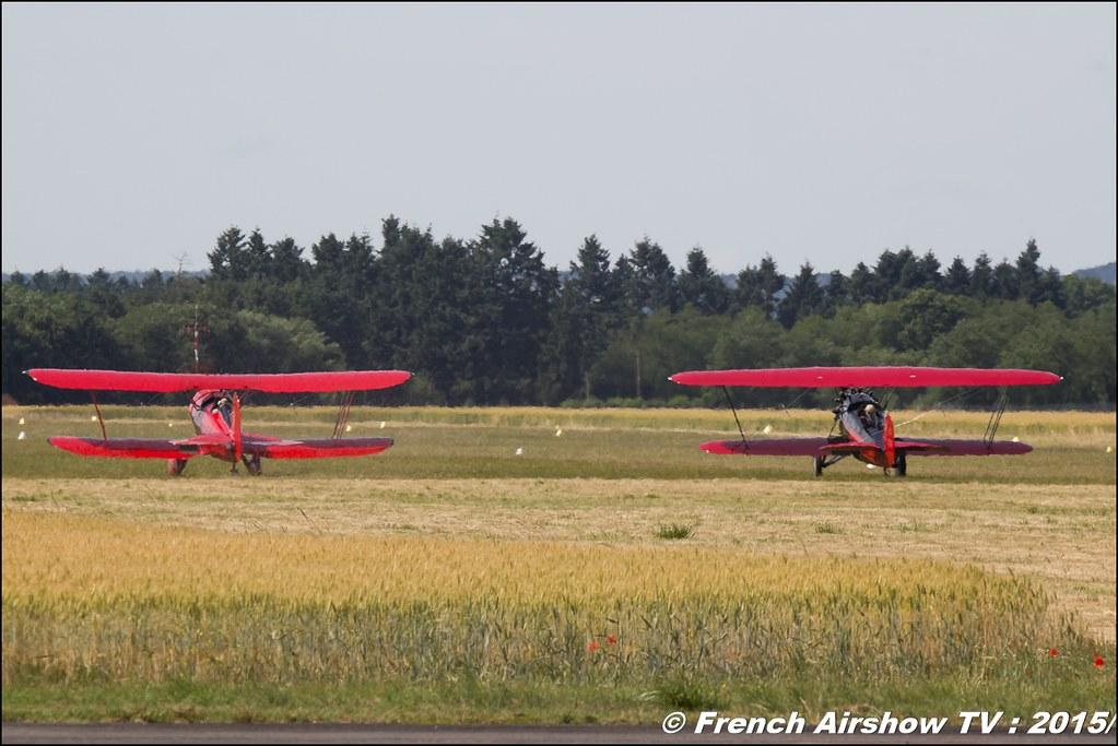 Waco Classic Aircraft YMF Model F5C, F-GYMF, WACO ATO FR,, Fly in LFBK 2015 - Fly in Saint Yan 2015, Meeting Aerien 2015