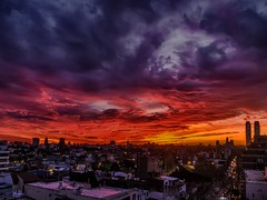 Incendio crepuscular - Twilight fire