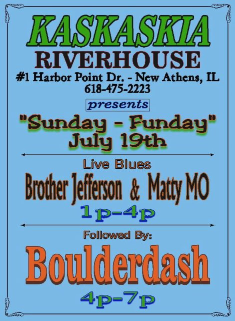 Kaskaskia Riverhouse 7-19-15