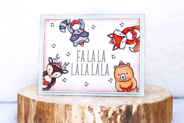 falala in july {new lawn fawn}