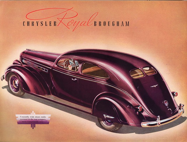 1938 Chrysler Royal Brougham