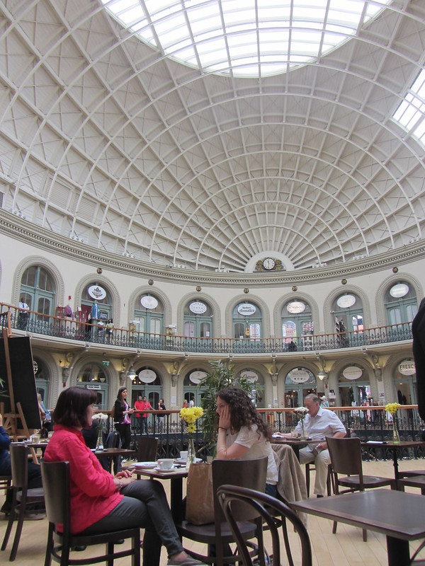 Coffee at the Corn Exchange