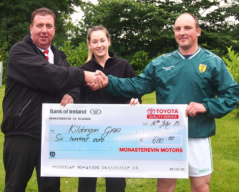 Kildangan GAA Check from Monasterevin Motors July 2015_0192