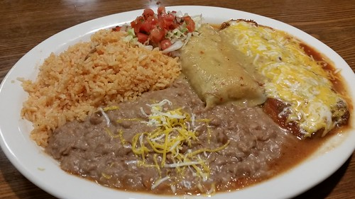 Tamale and Chile Relleno Combo Platter
