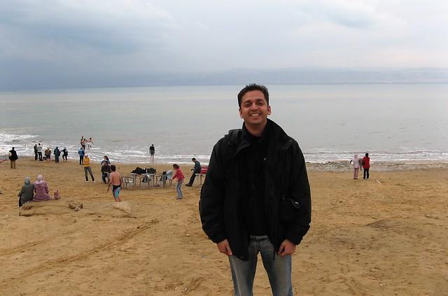 Zaid at Dead Sea