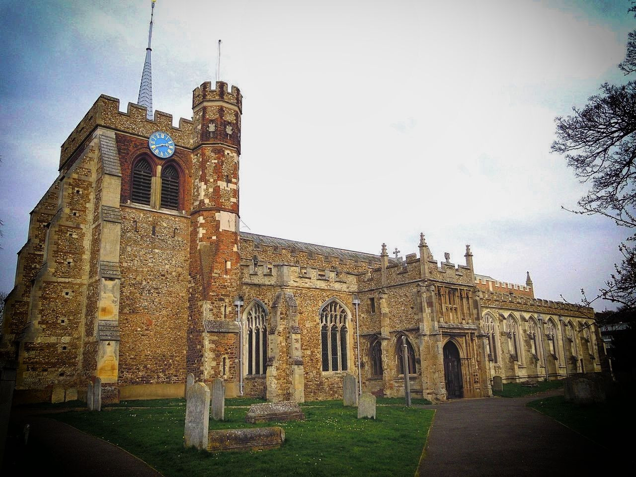Saint Mary Church, Hitchin, Herefordshire