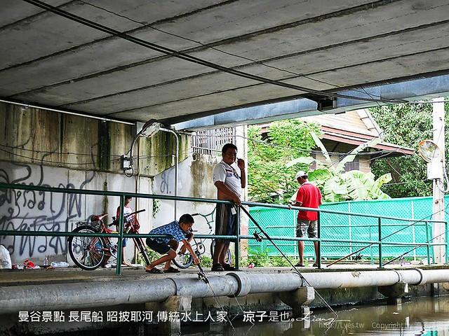 曼谷景點 長尾船 昭披耶河 傳統水上人家 34
