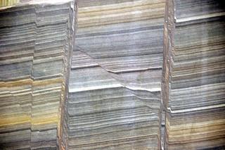 Faulted sandstone (Unkpapa Sandstone, Upper Jurassic; Calico Canyon, Buffalo Gap, South Dakota, USA) 2