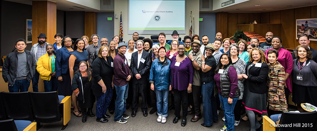 2017 Citizens Academy Group Photo