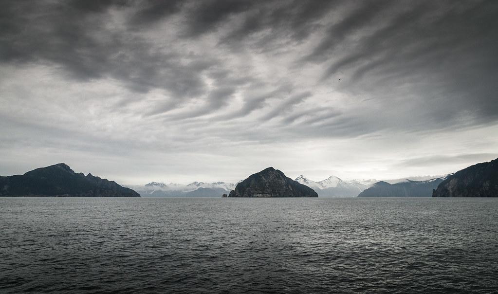 Resurrection Bay, Alaska | Gray May day, Seward, Alaska  Pro