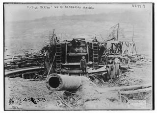"""Little Bertha"" which bombed Amiens (LOC)"