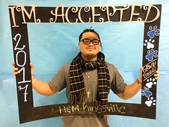 Congratulations to Carlos Valle who got accepted to Texas A&M University-Kingsville in Kingsville, Texas! #CollegeBound #CollegeBoundBulldogs #Somerset2017