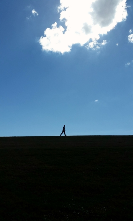 Man on Levee II