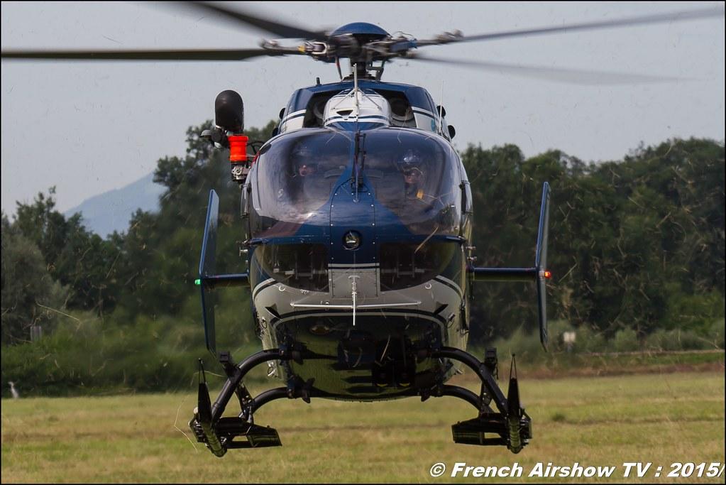EC-145 Gendarmerie,Fête aerienne Albertville 2015, Meeting Aerien 2015