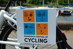 Have bike, will festival