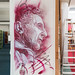 Stencil by Christian Guémy (aka C215) at CEA Saclay by mat2057