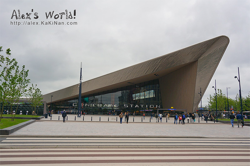 Rotterdam's Centraal Station