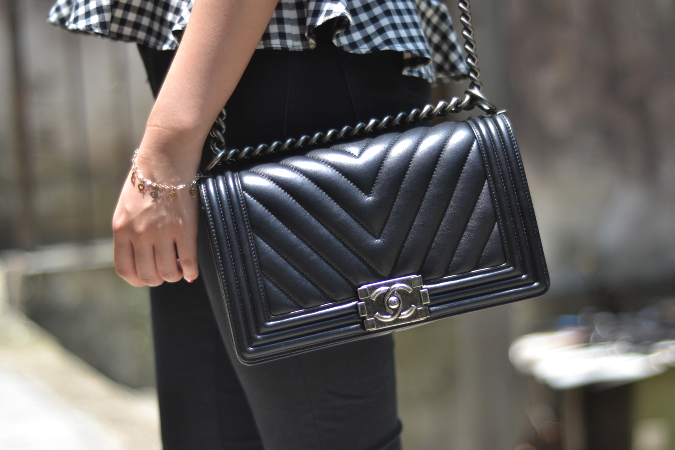Daisybutter - Hong Kong Lifestyle and Fashion Blog: Chanel Boy bag chevron quilt