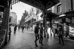 Chinatown - Street B&W II