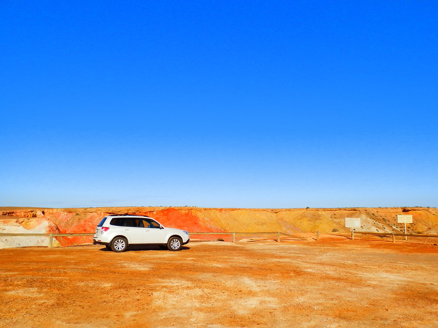 Outback Colours at the Ochre Pits, Lyndhurst South Australia
