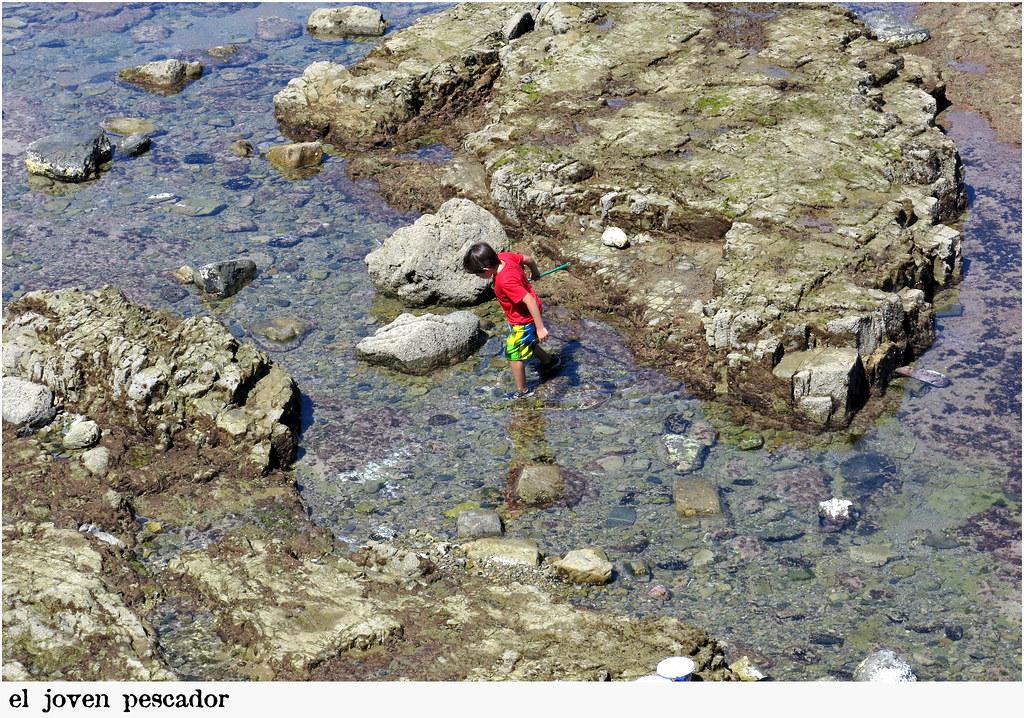 el joven pescador