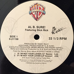 AL B. SURE!:IF I'M NOT LOVER(LABEL SIDE-A)