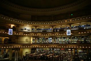 El Ateneo Bookstore.  Buenos Aries, Argentina.