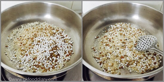 Homemade Cerelac for Babies/Sathu Maavu for Babies - step 3