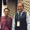 Berjumpa bekas anak murid #SMSLabuan di International Future Conference 2015 - Meeting 21st Century Demands, Integrating Arts & STEM yang kini pelajar di PERMATApintar Negara UKM. #wefie #SBP