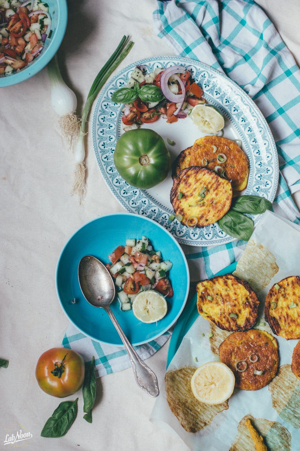 Gluten Free Fritters with Ricotta & Coconut Flour | Frittelle Senza Glutine con Farina di Cocco | Lab Noon by Saghar Setareh-16