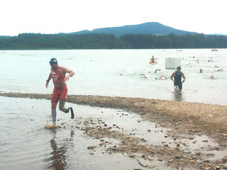 Martin Falch, SALTO Systems / free2move.org athlete at Austrian masters cross triathlon sprint championship