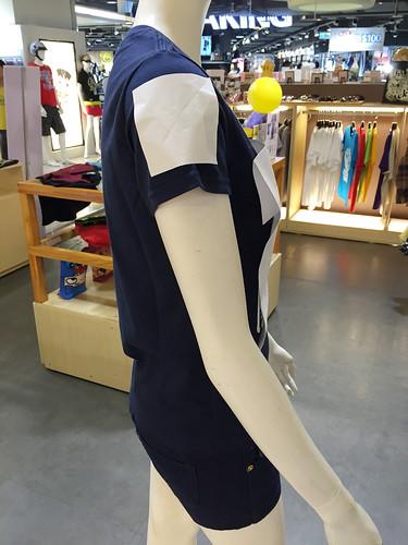 班服指南-Gimu團體服-基本網版印在班服上的照片-女MODEL-袖子
