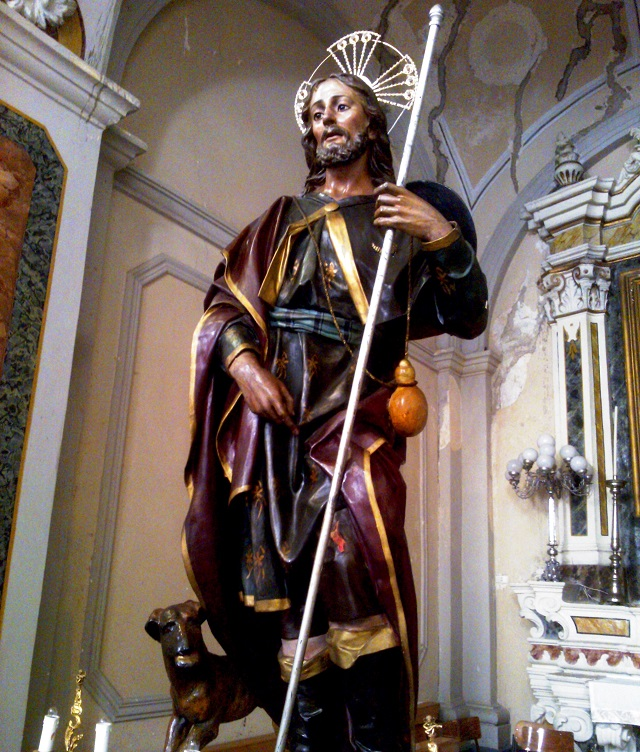 Noicattaro. San Rocco intero