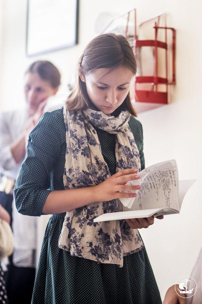 12 августа 2015, Вступительные экзамены на регентское отделение. День 3 / 12 August 2015, Entrance examination for choir department. Day 3