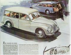 DKW Sonderklasse Universal F91U (1954)