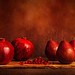 Pomegranates & Pears by cindiefearnall