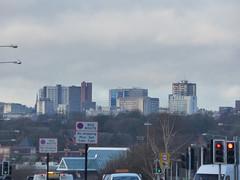 Birmingham Skyline from Coventry Road, Hay Mills - Five Ways skyline