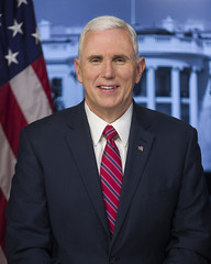 Official portrait, Vice President Mike Pence