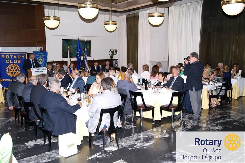 Αδελφοποίηση Ροταριανών Ομίλων Λευκωσία-Σαλαμίς, Πάτρα-Γέφυρα, Πάτρα και Πάτρα-Παναχαΐκό