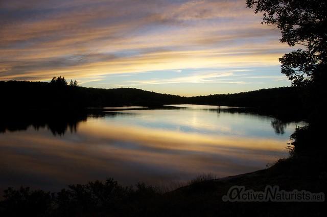 sunset view 0002 Harriman State Park, New York, USA