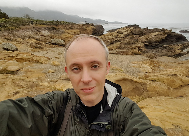Selfie at Point Lobos
