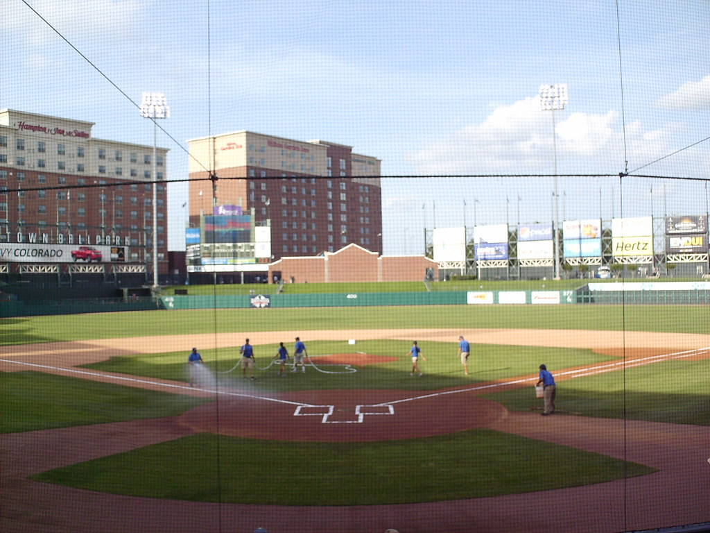 Chickasaw Bricktown Ballpark In The Ballparks