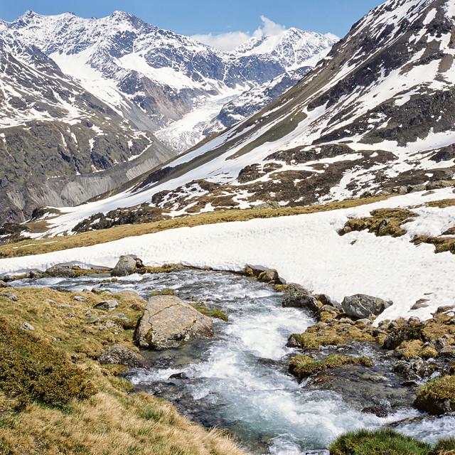 Kaunertal Black Glacier