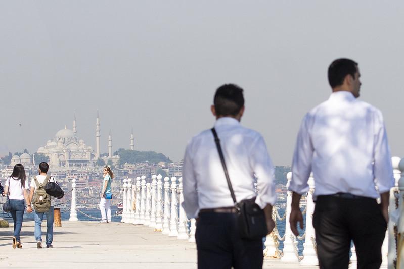 Walk in Uskudar - Istanbul, Turkey