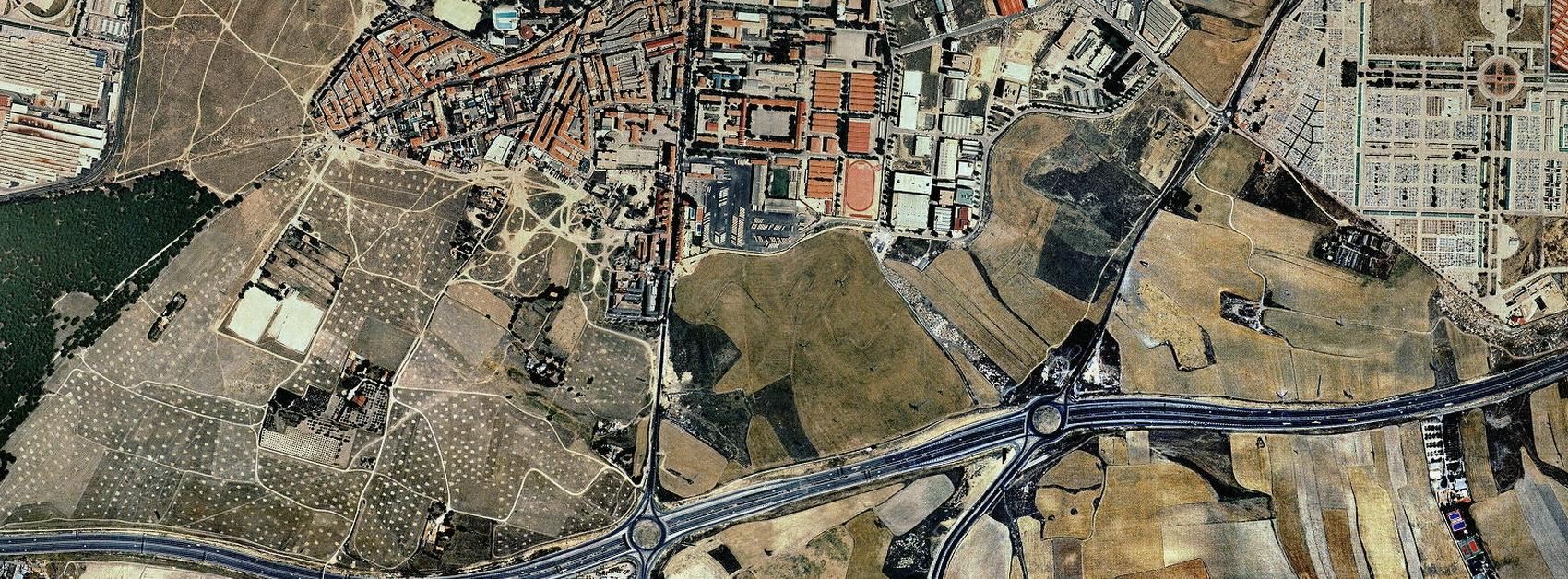 PAU de Carabanchel, Madrid, avenida de los peseteros, antes, urbanismo, planeamiento, urbano, desastre, urbanístico, construcción