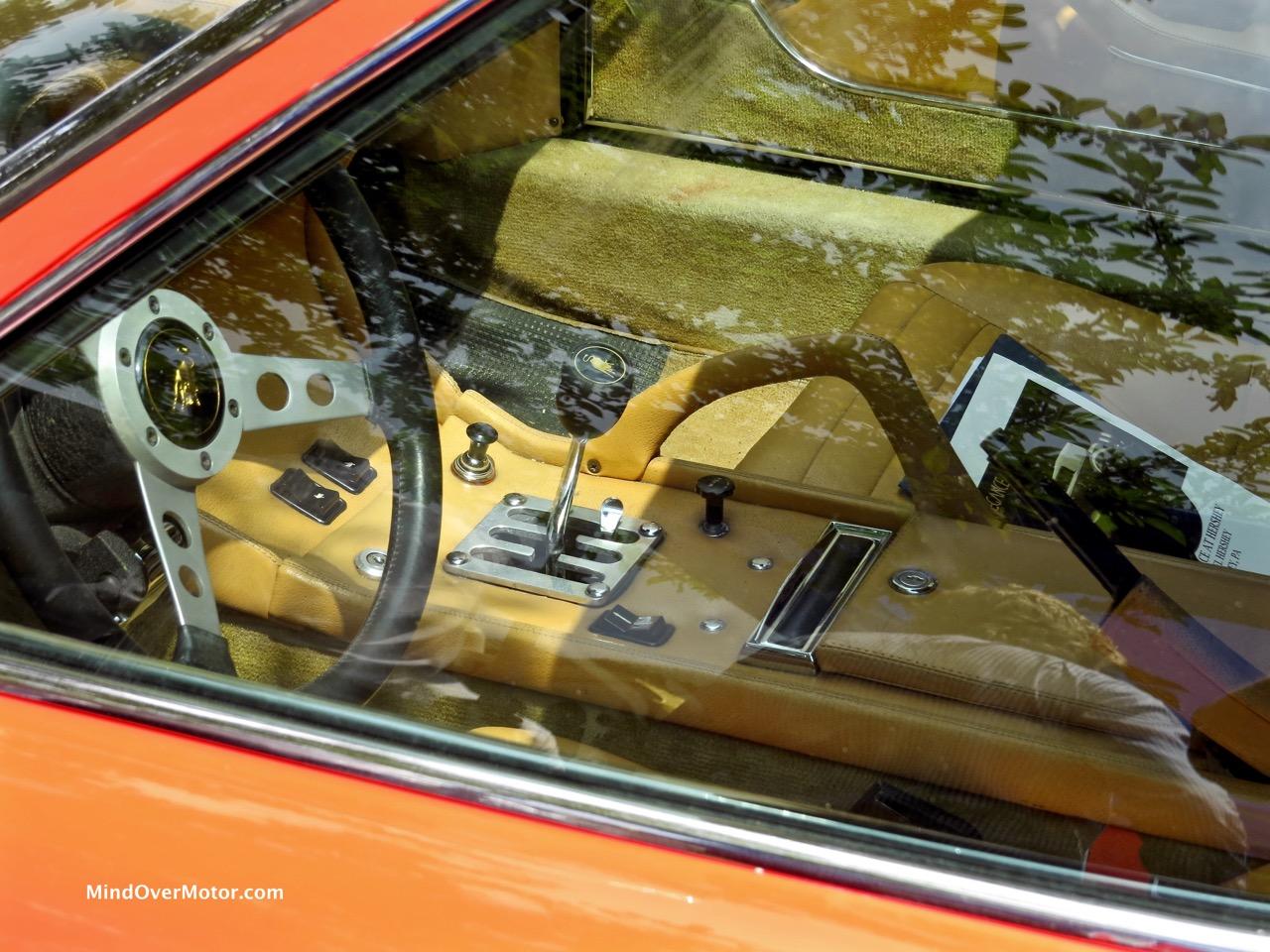 Lamborghini Miura P400S Interior