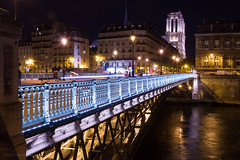 Pont d'Arcole & Notre Dame, Paris