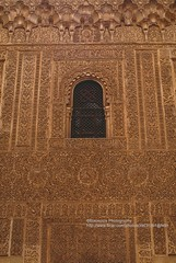 Granada, Alhambra, window