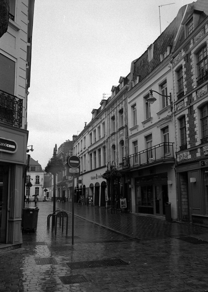 Rainy Day in Arras
