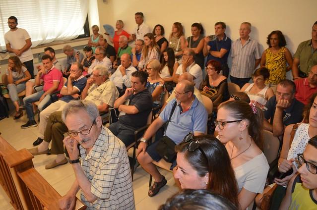 Casamassima-Il pubblico presente in Consiglio comunale